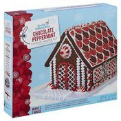 Crafty Cooking Kits Cookie House Kit, Chocolate Peppermint