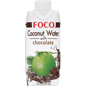 Foco Coconut Water, with Chocolate