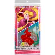 Unique Tablecover, Plastic, Disney Princess