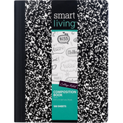 Smart Living Composition Book, College Ruled