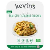 Kevin's Natural Foods Thai-Style Coconut Chicken with 100% vegetarian-fed chicken