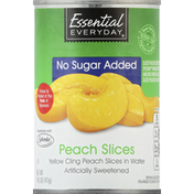 Essential Everyday Peach Slices, in Water, No Sugar Added
