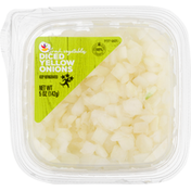 Ahold Onions, Yellow, Diced