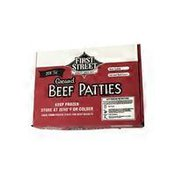First Street 80% Beef Hamburger Patties