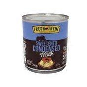 Fresh Thyme Sweetened Condensed Milk