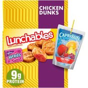 Lunchables Chicken Dunks Meal Kit with Capri Sun Fruit Punch Drink & Nerds Candy