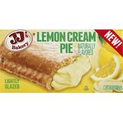 JJ's Bakery Cream Pie, Lemon, Lightly Glazed