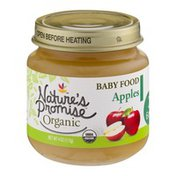 Nature's Promise Organic Baby Food Apples 6m+
