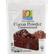 O Organics Cocoa Powder, Unsweetened, 100% Cocoa