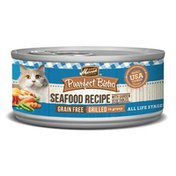 Merrick Purrfect Bistro Grain Free Seafood Grill Mix Recipe Canned Cat Food