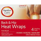 Signature Home Heat Wraps, Back & Hip