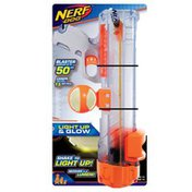 """NERF DOG 16"""" Tlcnt Blaster With 2.5"""" LED Glow Ball Dog Toy"""