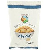 Full Circle Rippled Potato Chips