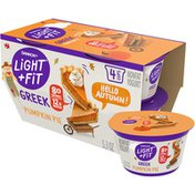 Light + Fit Gluten-Free Pumpkin Pie Greek Nonfat Yogurt