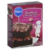 Pillsbury Brownie Mix, Premium, Raspberry Cheesecake Swirl
