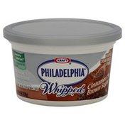 Philadelphia Cream Cheese Spread, Whipped, Cinnamon 'N Brown Sugar