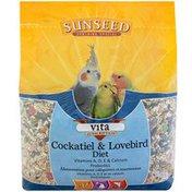 Sunseed Cockatiel & Lovebird Diet