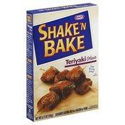 Shake N Bake Coating Mix, Seasoned, for Chicken or Pork, Teriyaki Glaze