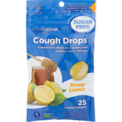 CareOne Cough Drops Sugar Free Honey Lemon