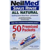 NeilMed Sinus Rinse, Premixed Packets