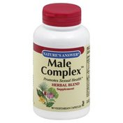 Nature's Answer Male Complex, Vegetarian Capsules
