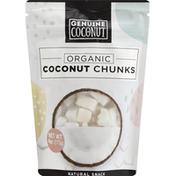 Genuine Coconut Coconut Chunks, Organic