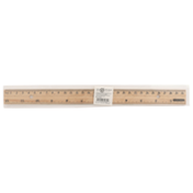 Simply Done Ruler Wood With Metal Edge