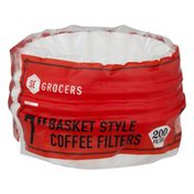 """Southeastern Grocers 7"""" Basket Style Coffee Filters - 200 CT"""