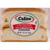 Calise Bakery Hot Dog Rolls, New England Style