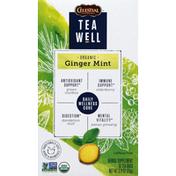 Celestial Seasonings Herbal Supplement, Organic, Ginger Mint