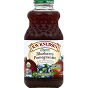 RW Knudsen 100% Juice, Organic, Blueberry Pomegranate