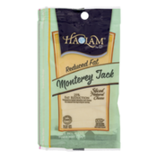 Haolam Sliced Cheese, Natural, Monterey Jack, Reduced Fat
