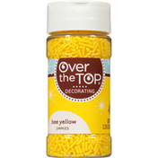 Over The Top Bee Yellow Jimmies