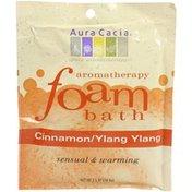 Aura Cacia Cinnamon Ylang Ylang Foaming Bath Soak