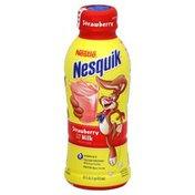 Nestle Nesquik Milk, Low Fat, Strawberry