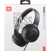 Jbl Wired On-Ear Headphones, Tune 500