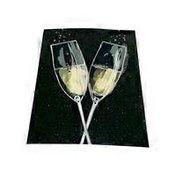 Avanti Champagne Flutes A-Press Anniversary Card