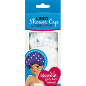 Turbie Twist Shower Cap, Lined