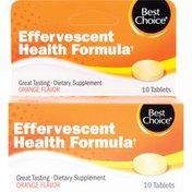 Best Choice Immunity Air Mune Orange Flavor Effervescent Tablets