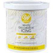 Wilton White Decorator Icing, 16 oz.