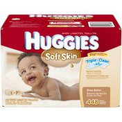 Huggies Soft Skin Refill Baby Wipes