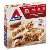 Atkins Cinnamon Bun Meal Replacement Bars