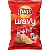 Lay's Wavy Family Size Original Potato Chips
