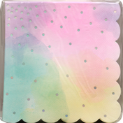 Paper Art Napkins, Iridescent, 3-Ply