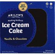 Abilyns Ice Cream Cake, Vanilla & Chocolate