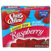Shurfine Raspberry Sugar Free Low Calorie Gelatin Dessert
