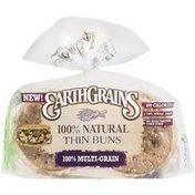 Earthgrains Thin Bun, 100% Multi-Grain