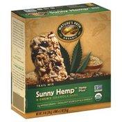 Nature's Path Granola Bars, Chewy, Trail Mix, Sunny Hemp, Hemp Plus