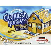 Manischewitz Decorating Kit, Vanilla Cookie, Chanukah House