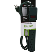 Monster Power Strip, 6 Outlet
